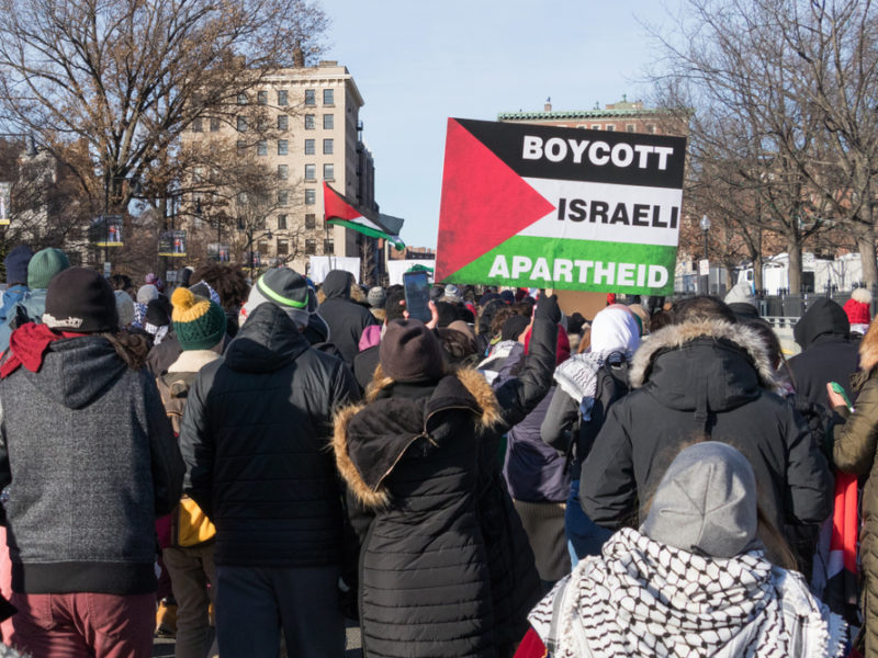 'Israel Apartheid – We don't buy it'