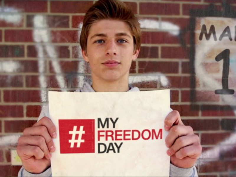 Together We Can End the Human Trafficking Nightmare! Join Us For #MyFreedomDay