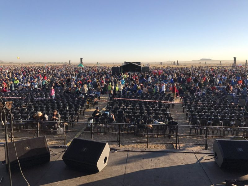 Almost a Million South Africans Gathered Today to Pray for Their Nation