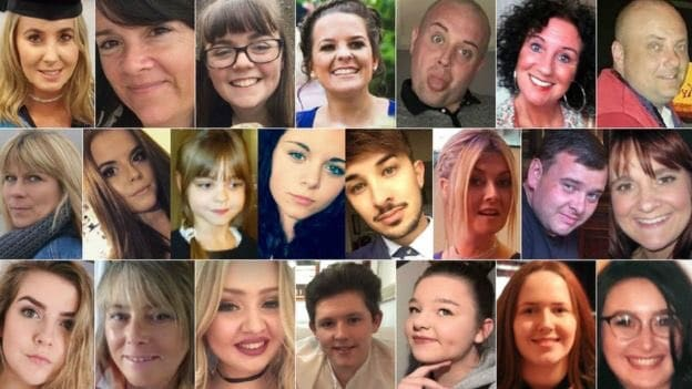 Manchester: Remembering 22 Precious Lives Lost