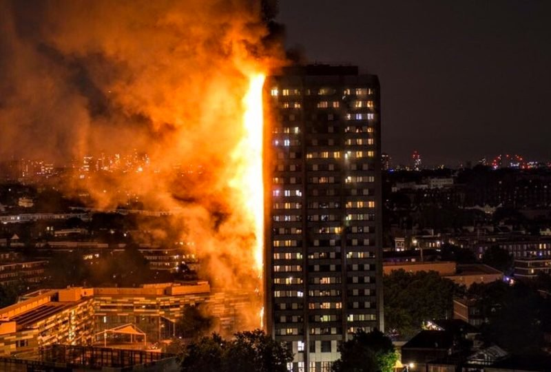 Baby Dropped from 10th Floor During London Fire: You Won't Believe the Miracle that Occurred