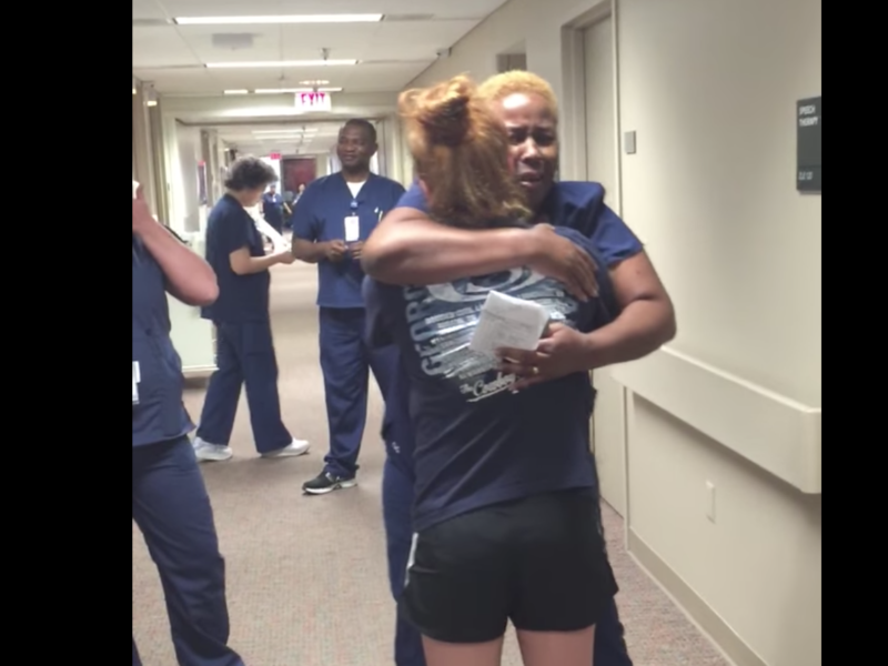 """""""Thank You, LORD!"""": Nurse Erupts With Gratitude As Paralyzed Patient Walks"""