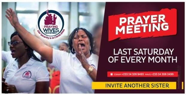 There is a Group of Praying Wives on the Loose in Ghana! Join the Movement!
