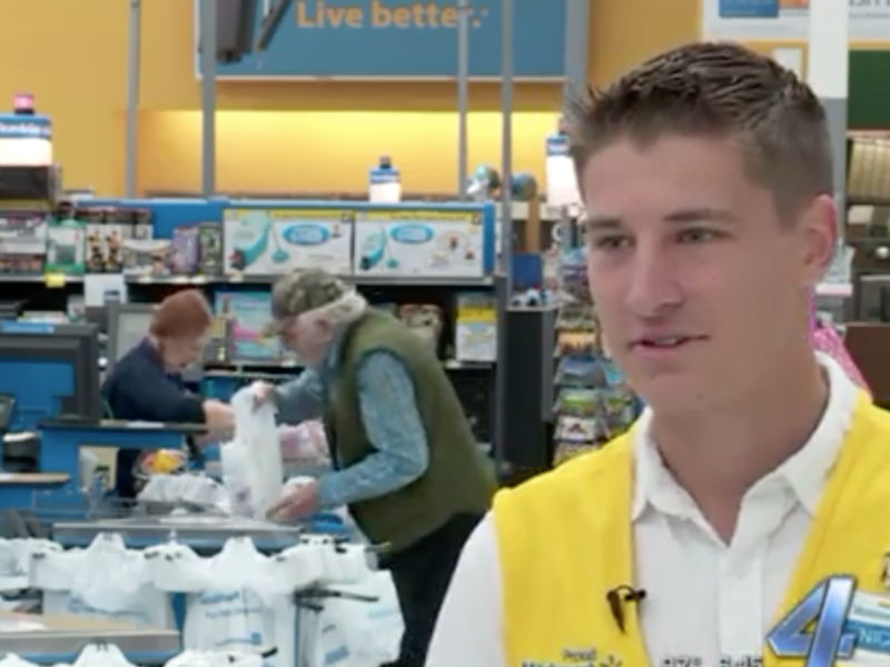 Young Walmart Cashier Displays Heart of God; Helps Struggling Foster Mom