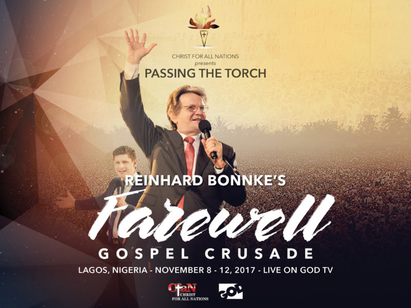 Celebrate 40+ years of Evangelism with Reinhard Bonnke and CfaN