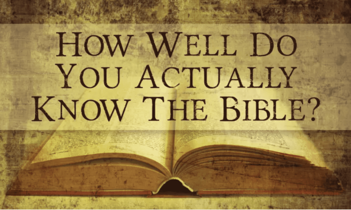 How Well Do You Really Know Your Bible  God Tv-8628