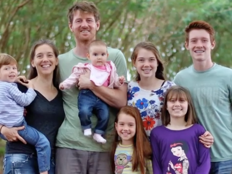 A beautiful family with a great big heart for mission