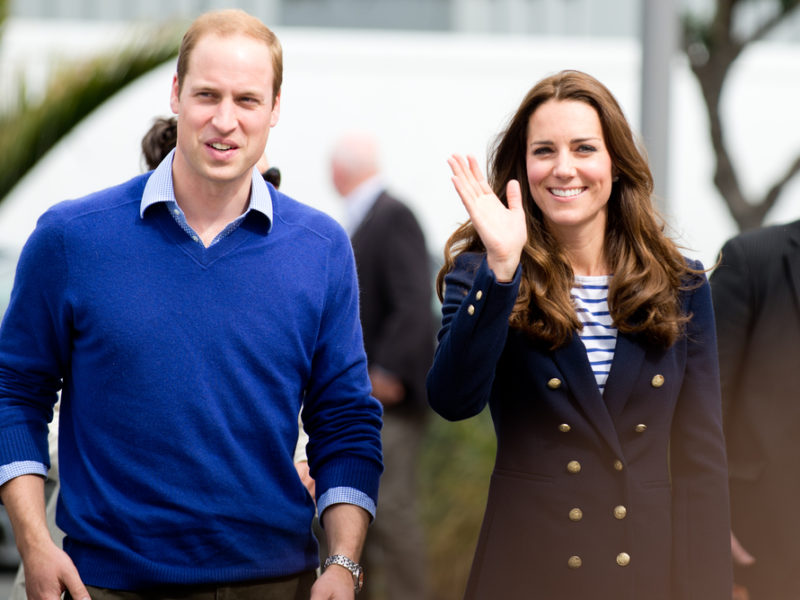 William and Kate Announce the Name of Britain's New Prince