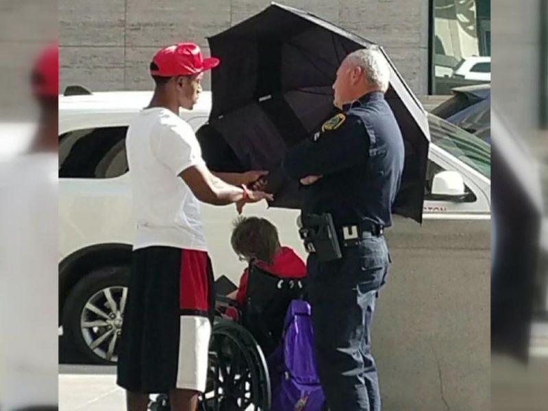 Samaritan Son's Act of Kindness Goes Viral