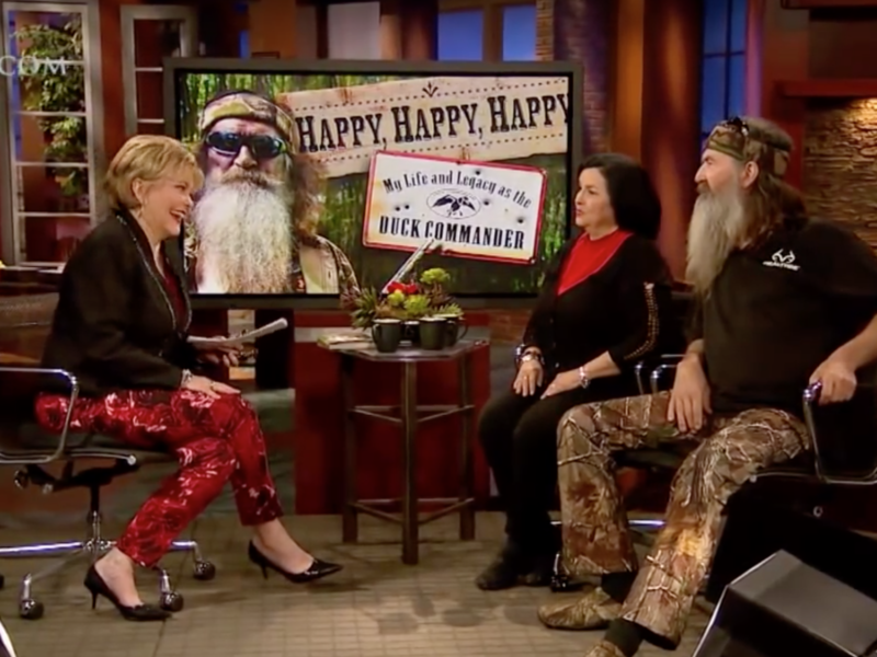 WATCH: Duck Dynasty's Phil and Kay Robertson on Faith Saving Their Breaking Marriage