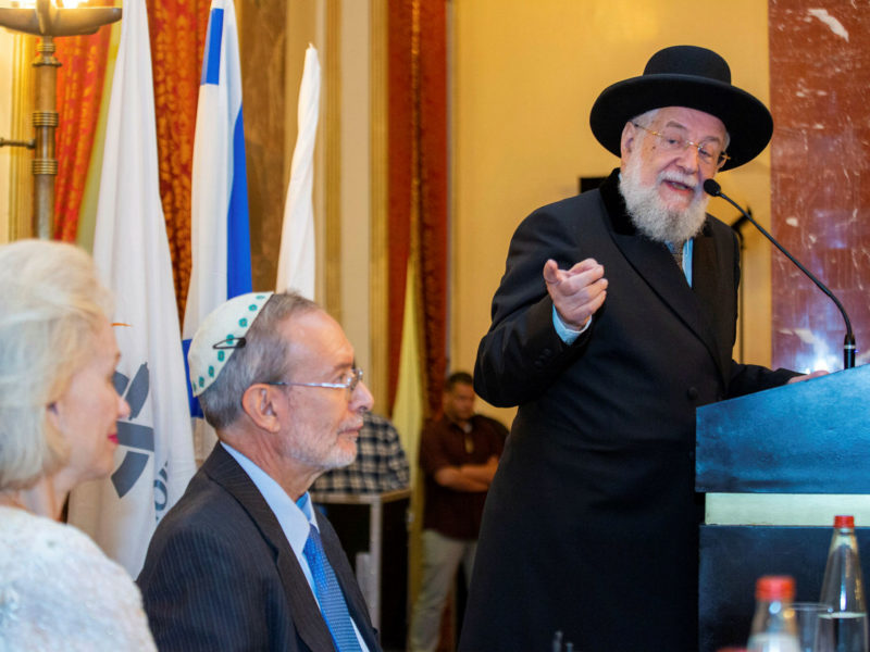 Former Chief Rabbi Asks: Why Does Israel Need War to Have Unity?