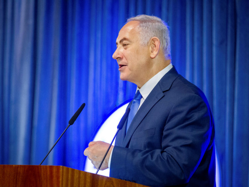 Netanyahu in Paris Warns Antisemitism Doesn't End With Jews