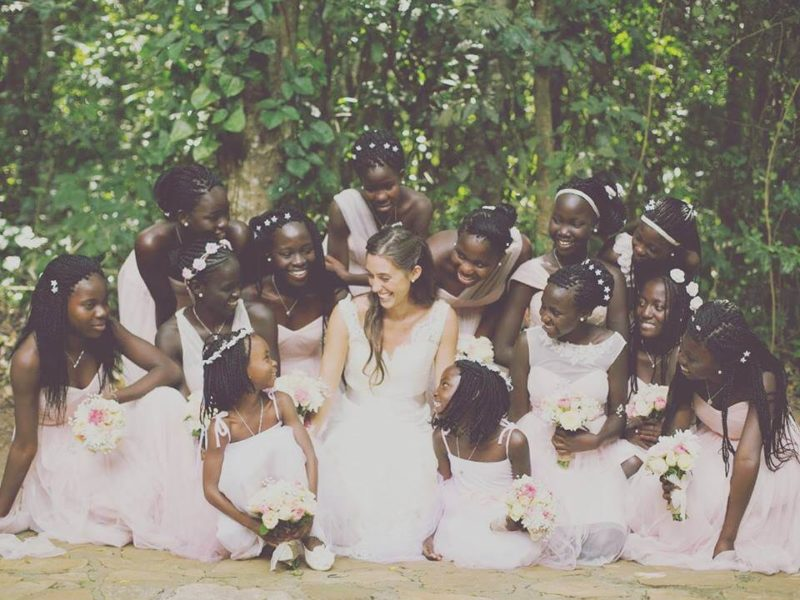 23-Year-Old Adopts 13 Daughters Before Getting Married, Then Introduces Them to New 'Dad'