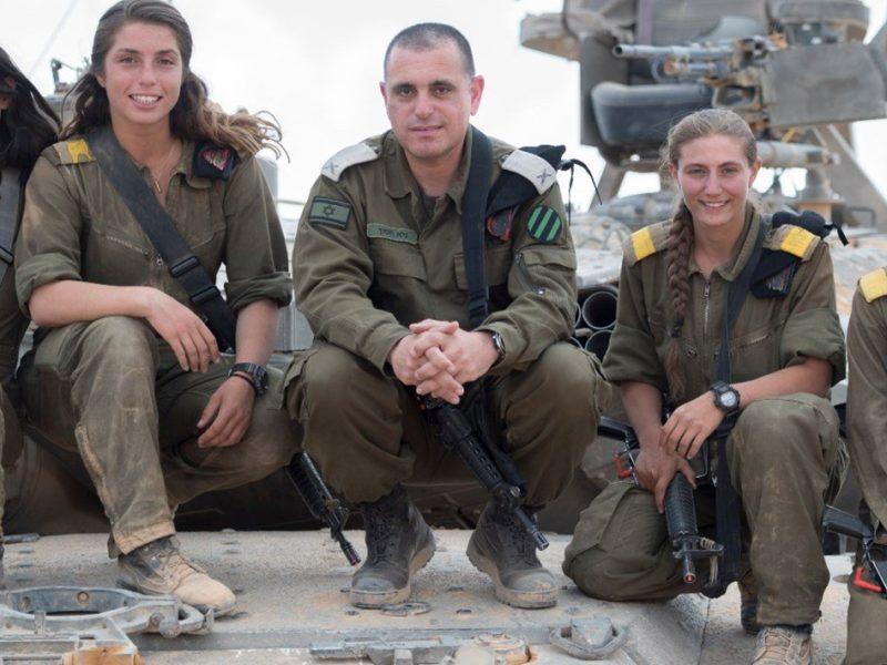 IDF Crowns First Five Female Tank Commanders