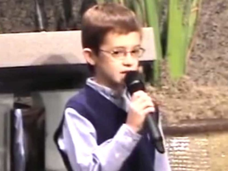 9-Year-Old Boy Gives a Summary of the Bible in Just 8 Minutes!