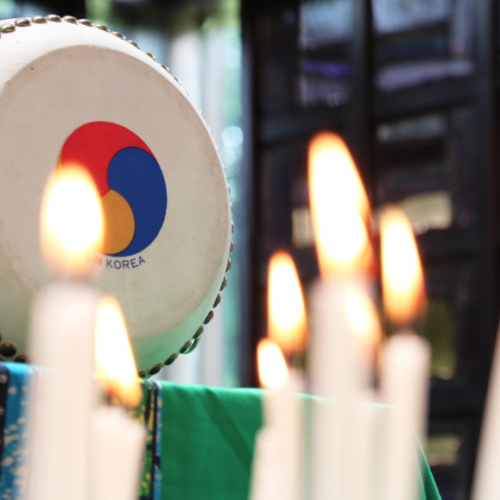 Pray for peace in Korea