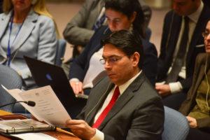 Danny Danon Israeli Ambassador to the United Nations