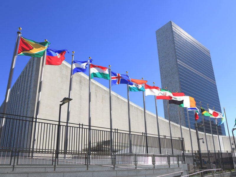 UN passes 'Protection of the Palestinian Civilian Population Resolution' (120-8)