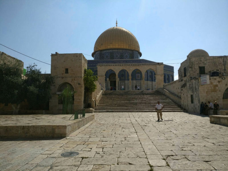 Jordan Protests As Jews Ascend Temple Mount