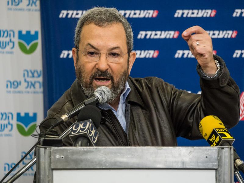 Former Prime Minister Ehud Barak Targeted by Iran