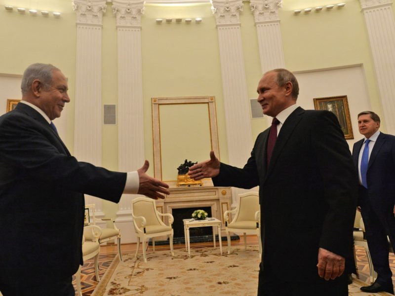 Netanyahu and Putin Meet in Moscow