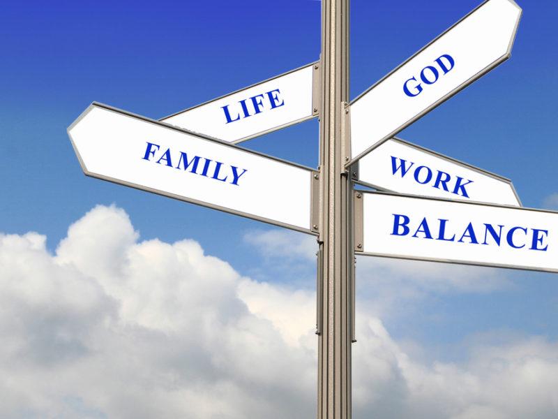 4 Top Tips to a Balanced Life