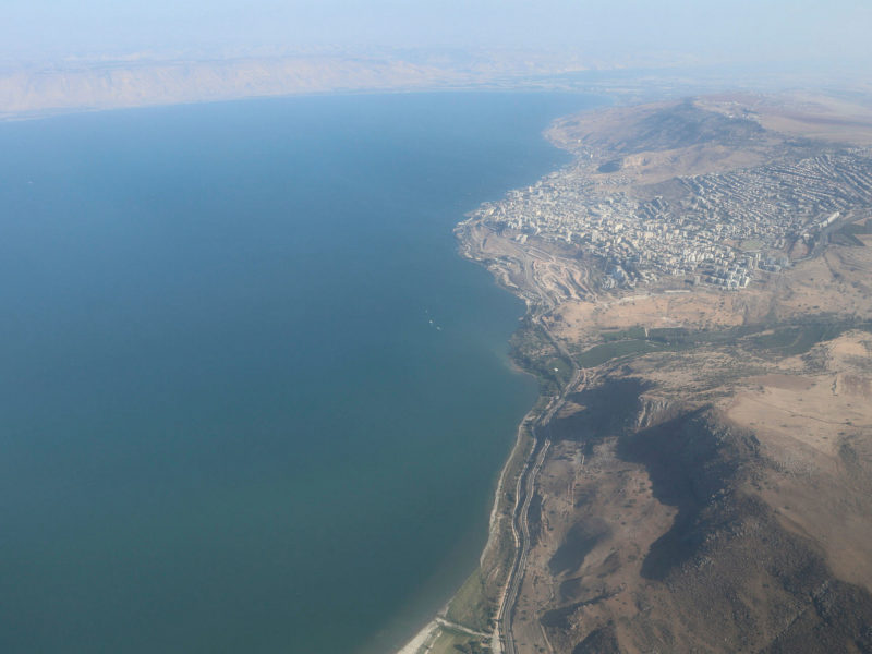 Israel's Natural Water Reserves Lowest in a Century