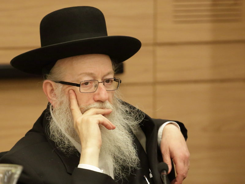 Litzman: No Compromise On Draft Law