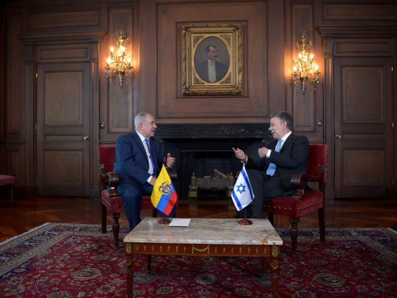 Colombia Recognizes Palestinian State, Moments Before New President Takes Over