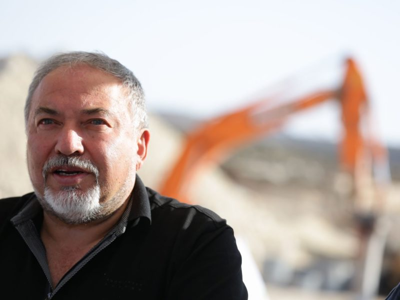 Liberman: In Syria, Israel Obligated By Its Security Interests Only