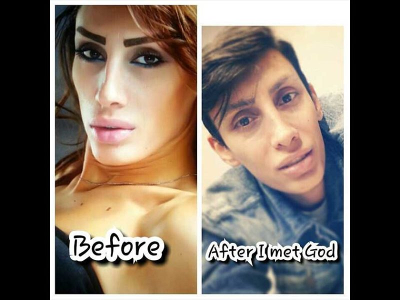 Lebanese Transgender Receives Jesus And Gets Transformed Back To Being A Man