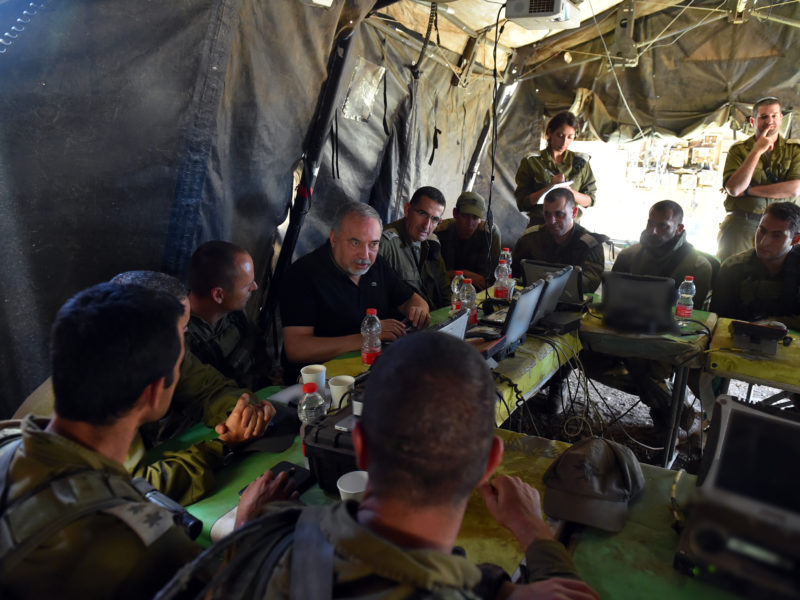 Liberman: No Gaza Understandings Without Return Of Missing Soldiers, Civilians