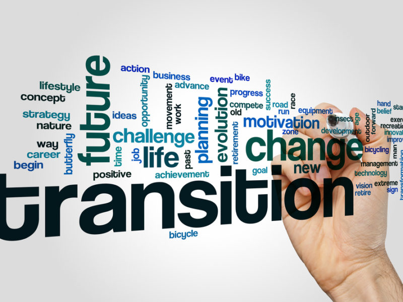 Things are changing… how do you handle transition?