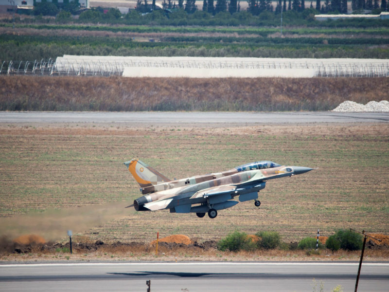 IDF Says It Has Carried Out 200 Strikes In Syria