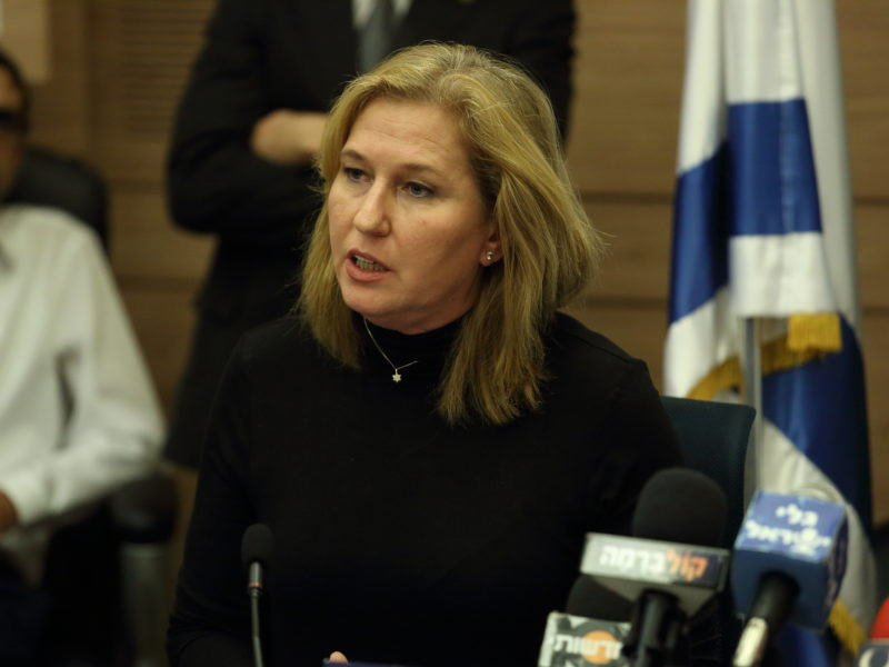 Livni Defends Decision to Meet with Abu-Mazen, Says it Was to Prevent Violent Escalation