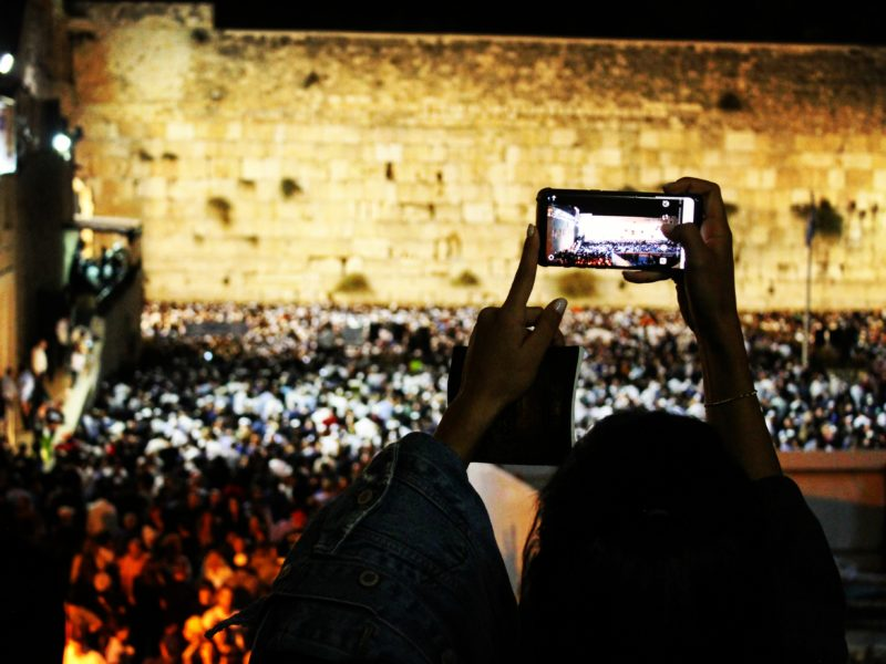 Awe and Inspiration During Selichot at The Western Wall