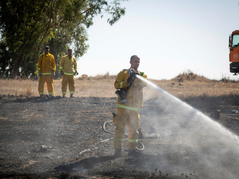 JNF Report: Half of Gaza Belt Forests Destroyed By Aerial Arson Attacks