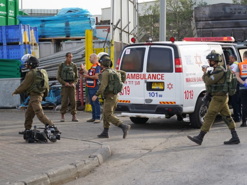 Palestinian Shoots Three At Barkan Industrial Zone
