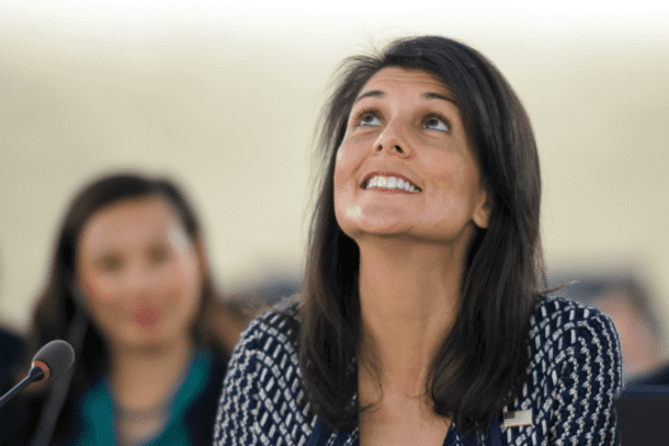 Seven Ways Nikki Haley Blessed Israel