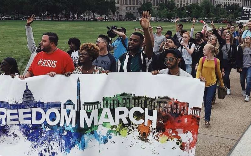 Former LGBTQ People Gather To March For Jesus' Love In LA