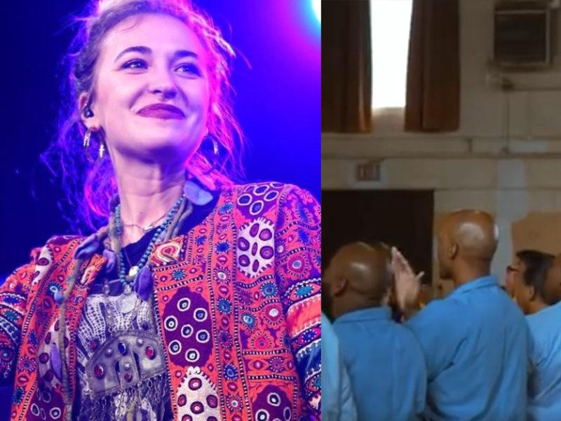 Christian Singer, Lauren Daigle, Worships Jesus In Illinois Maximum Security Prison