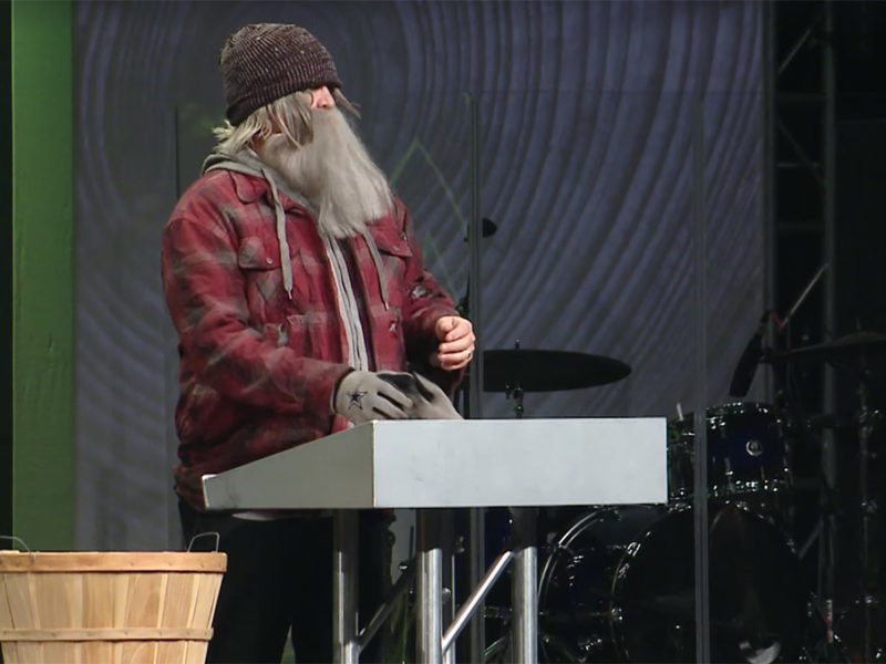 A Pastor Disguises Himself As A Homeless Man Outside Church And What Happened Made Him Cry