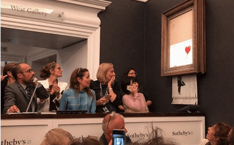Painting Gets Shredded After Being Sold for $1.4-Million. What Can we Learn From This?
