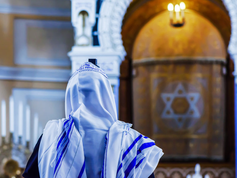 When Jewish Blood Is Shed In A Synagogue