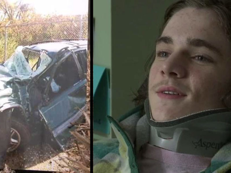 16 Year-Old Student Paralyzed in Crash has an Unforgettable Heaven Experience