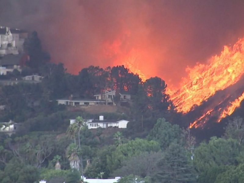 California's Apocalyptic Wildfire Continues to Consume