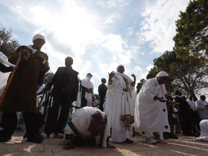 Prayer And Emotion Mark Ethiopian Jewish Holiday Of Sigd