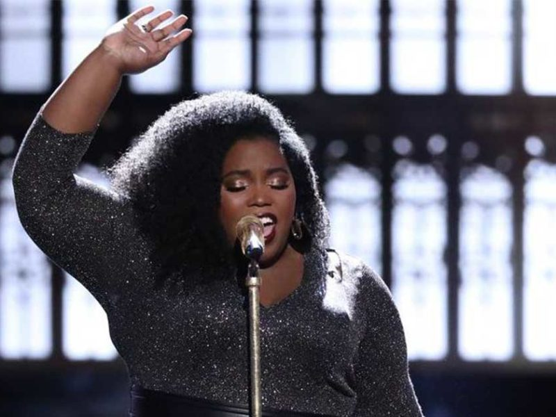 WATCH: The Voice USA Frontrunner Prophesies Over Coaches and Viewers