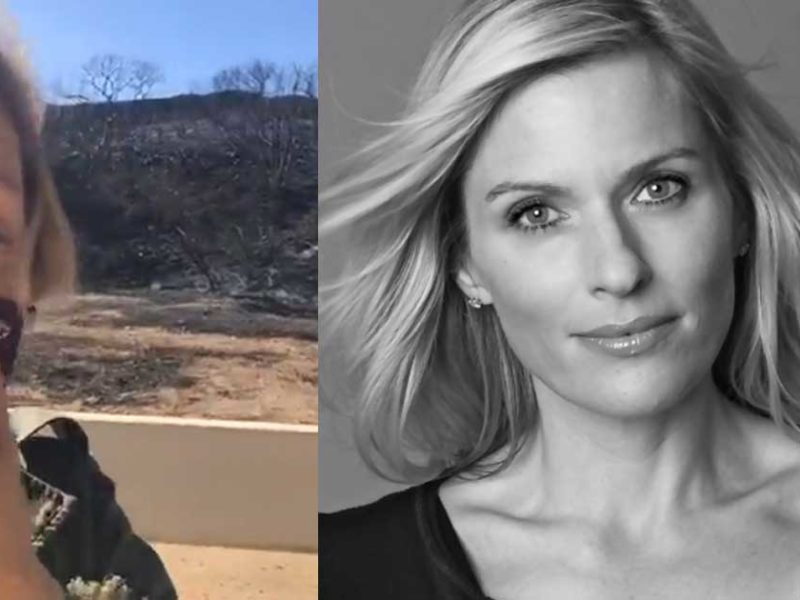 Hollywood Actress Declares Psalm 91 Over Home Saved From Wildfires