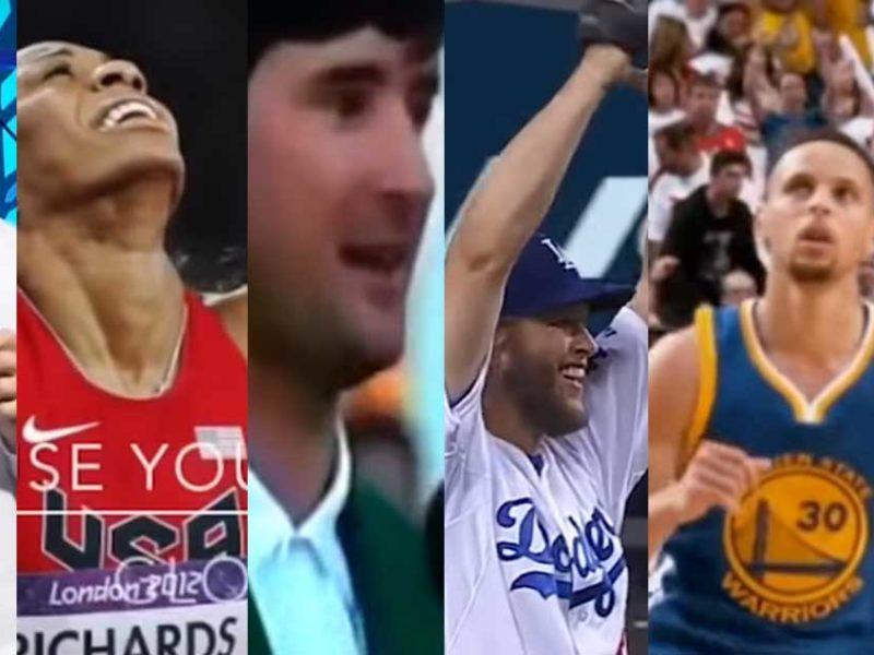 Pro Athletes Boldly Testify About Jesus LIVE On TV